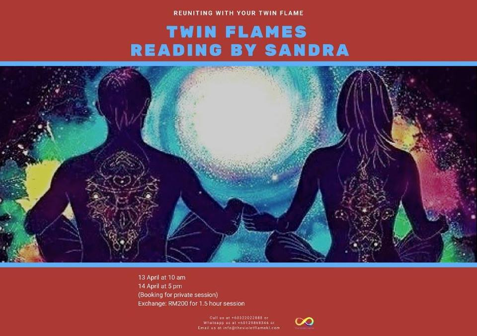 Twin Flames Reading by Sandra - the Violet Flame KL